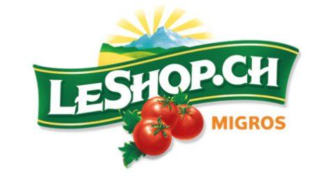 Das Logo von LeShop.ch