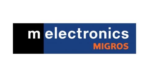 Das Logo von melectronics