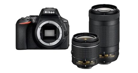 Bild von Nikon D5600 Spiegelreflexkamera + 2 Objektive