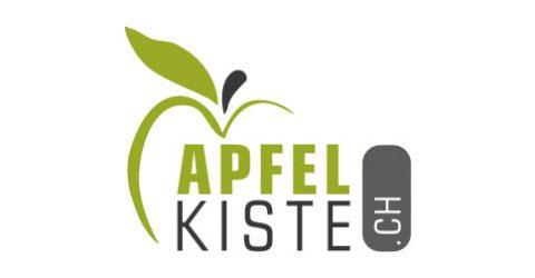 Das Logo von Apfelkiste.ch