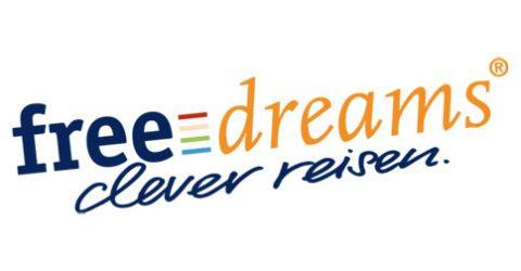 Das Logo von freedreams