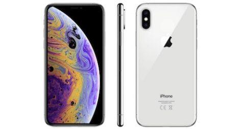 Bild von Apple iPhone Xs in silber mit 512GB