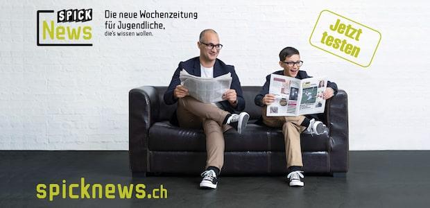 Jetzt testen: SPICK News, die neue Wochenzeitung für Jugendliche, die's wissen wollen