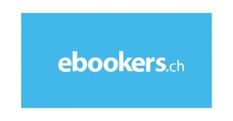 Das Logo von ebookers.ch
