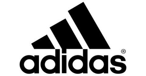 Das Logo von adidas