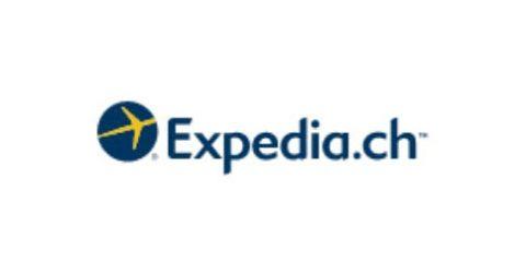Das Logo von Expedia.ch
