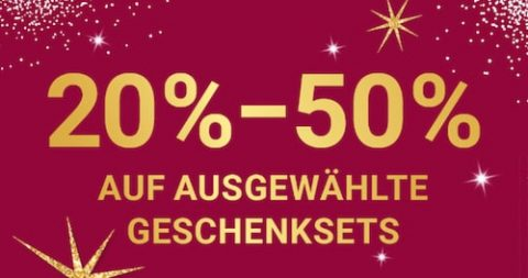 Ausgewählte Geschenksets mit bis zu 50% Rabatt