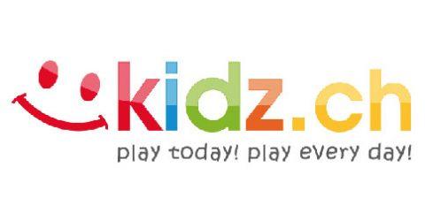 Das Logo von kidz.ch
