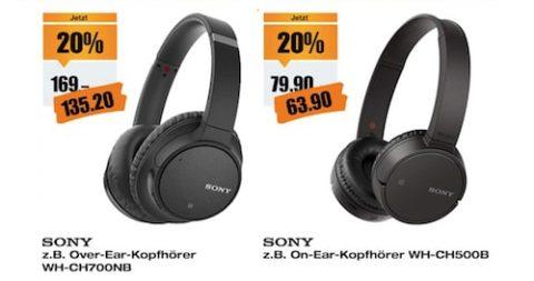 Sony Kopfhörer Aktion bei melectronics