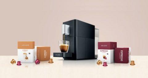 Delizio Kaffeemaschine mit 192 Kapseln gratis