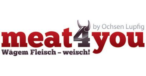 Das Logo von meat4you