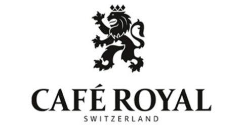 Das Logo von Café Royal
