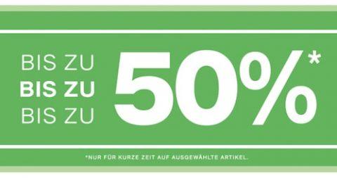 Bis zu 50% Rabatt bei Dosenbach