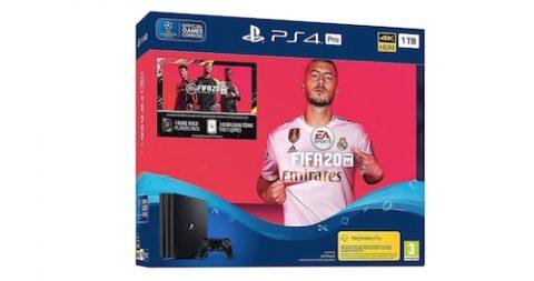Sony PlayStation 4 Pro 1TB + FIFA 20 Bundle