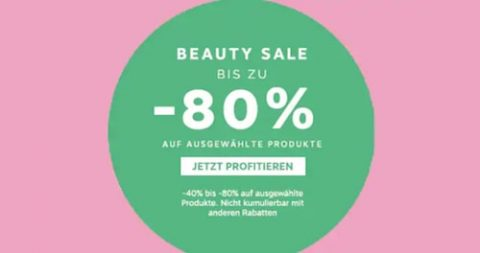 Beauty Sale bei Marionnaud