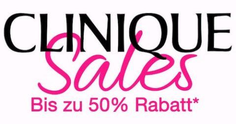 Clinique Sales mit bis zu 50% Rabatt