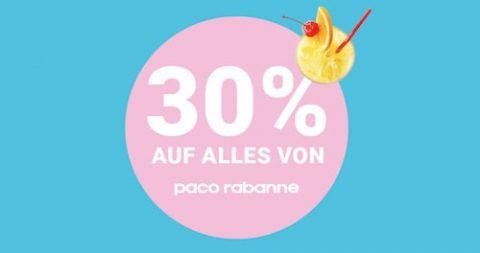 30% Rabatt auf alles von Paco Rabanne