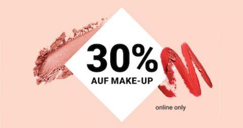 30% Rabatt auf Make-up