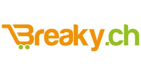 Das Logo von Breaky.ch