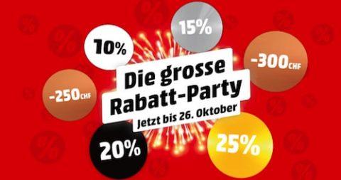 Rabatt-Party bei MediaMarkt