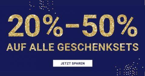 Import Parfumerie: 20-50% Rabatt auf alle Geschenksets