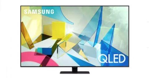 Samsung QE85Q80T TV Bild