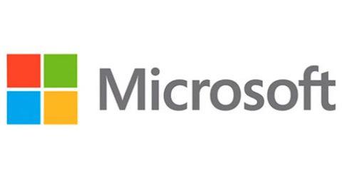 Das Logo von Microsoft