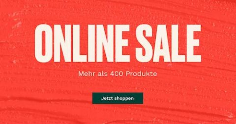 Online Sale bei The Body Shop