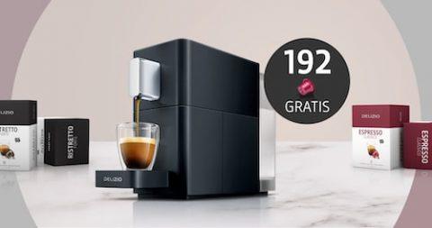 192 Gratis Kapseln zu deiner neuen Delizio Kaffeemaschine