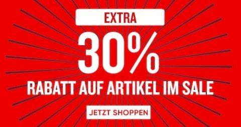 30% Extra Rabatt auf alles Sale-Artikel bei KOALA.CH