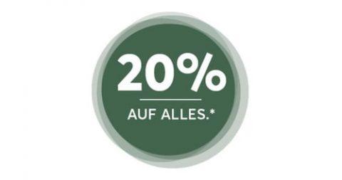 20% Rabatt auf alles bei LIVIQUE