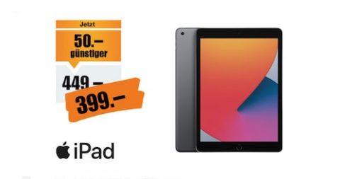Apple iPad 2020 (8. Generation) WiFi 128 GB Space Grau Aktion