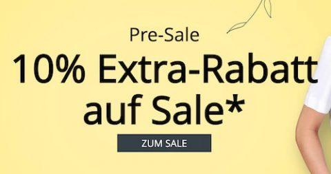 10% Extra-Rabatt auf Pre-Sale bei Peter Hahn