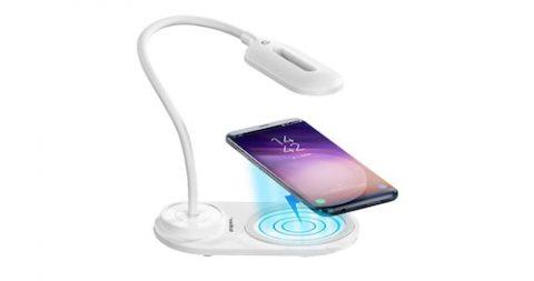 Gratis USB-Tischleuchte mit praktischer Smartphone Ladefunktion