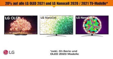 LG OLED und Nanocell TV Aktion