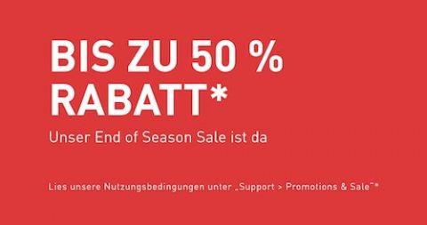 End of Season Sale bei PUMA
