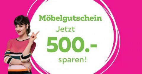 mömax Möbelgutschein - Jetzt CHF 500 sparen