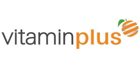 Das Logo von Vitaminplus