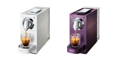 Delizio Una Automatic Kaffeemaschine inkl. 48 Kapseln Lungo oder Espresso für CHF 54.90 statt 138.80