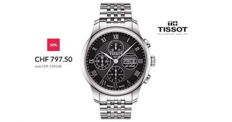 Tissot T-Classic (T0064141105300) zum halben Preis