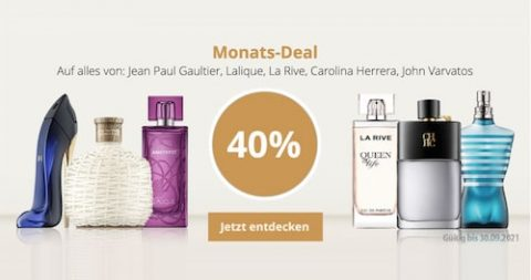 ParfumSALE Monats-Deal September