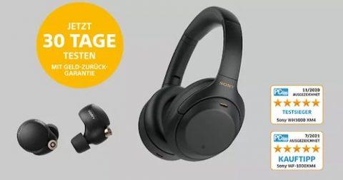 Sony Kopfhörer testen