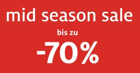 Mid Season Sale bei Manor