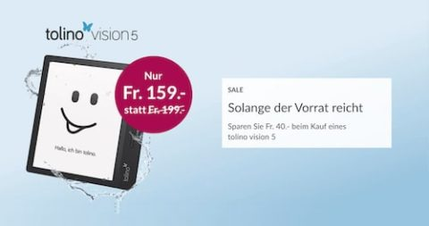 tolino vision 5 E-Reader